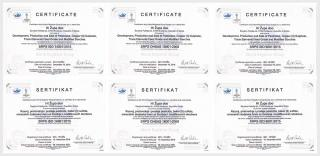 Hi Župa je dobila sertifikate sistema menadžmenta kvaliteta za